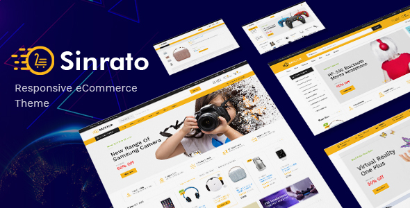 SINRATO V1.0 – ELECTRONICS THEME FOR WOOCOMMERCE