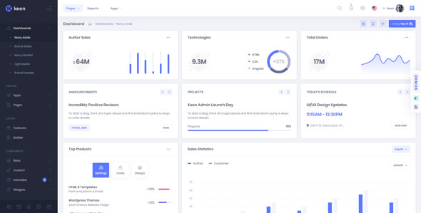 KEEN V1.4.2 – THE ULTIMATE BOOTSTRAP ADMIN THEME