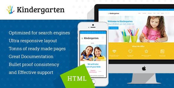 KINDERGARTEN V1.1 – CHILDREN HTML THEME