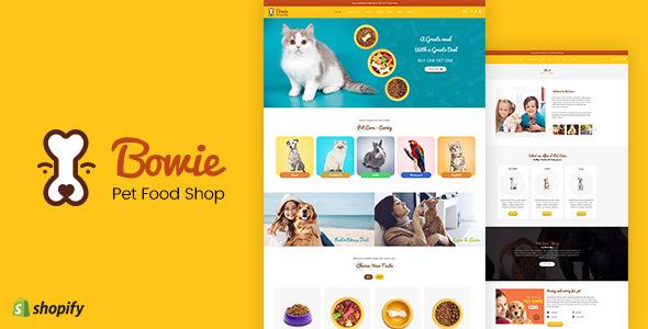 BOWIE – PET, AQUARIUM, BIRDS FOOD, LIVE SHOPIFY