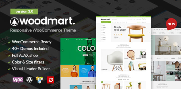 WOODMART V3.0 – RESPONSIVE WOOCOMMERCE WORDPRESS THEME