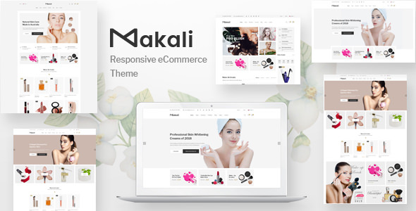 MAKALI V1.0.3 – COSMETICS & BEAUTY THEME