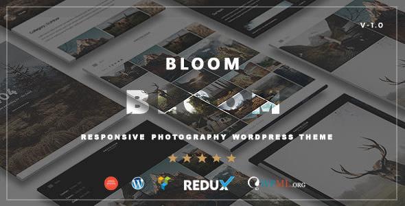 BLOOM V1.0 – RESPONSIVE PHOTOGRAPHY / PORTFOLIO THEME