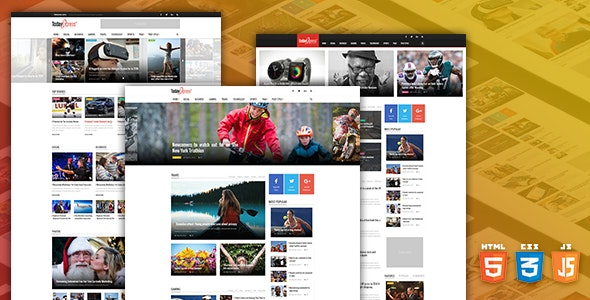 TODAYEXPRESS V1.0.0 – NEWS & MAGAZINE HTML TEMPLATE