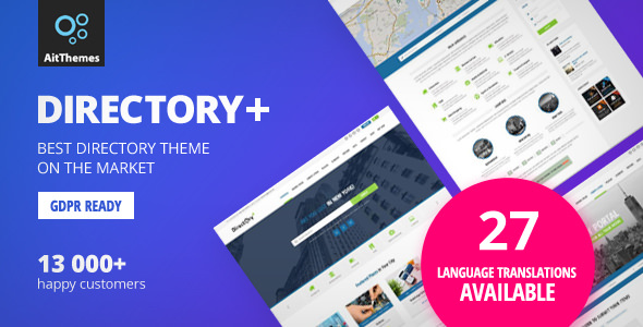 DIRECTORY+ V2.58 – WORDPRESS THEME