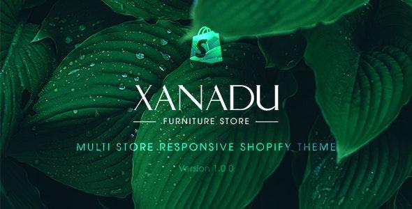 XANADU V1.0 – MULTI STORE RESPONSIVE SHOPIFY THEME