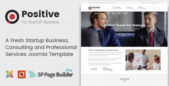POSITIVE V1.1 – STARTUP BUSINESS JOOMLA TEMPLATE