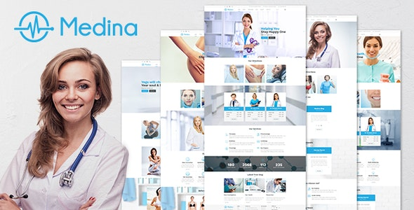 MEDINA V1.4.9 – RESPONSIVE MEDICAL & HEALTH THEME