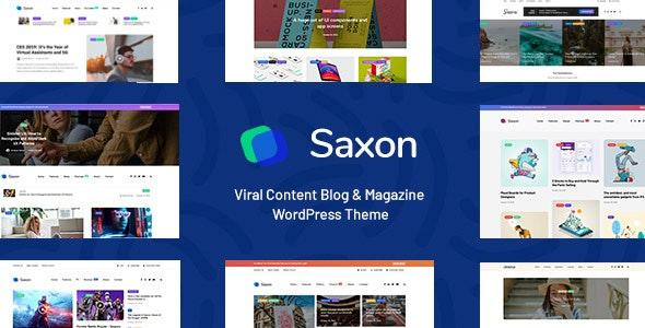 SAXON V1.6.2 – VIRAL CONTENT BLOG & MAGAZINE THEME