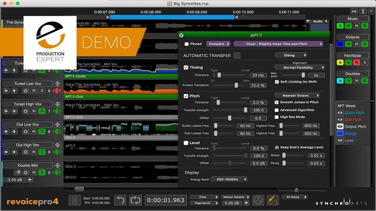 Synchro Arts Revoice Pro Free Download