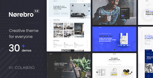 NOREBRO V1.3.1 – CREATIVE MULTIPURPOSE WORDPRESS THEME
