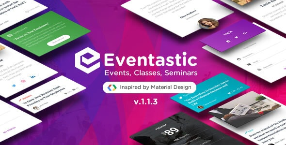 Eventastic – WordPress Theme for Events & Conferences