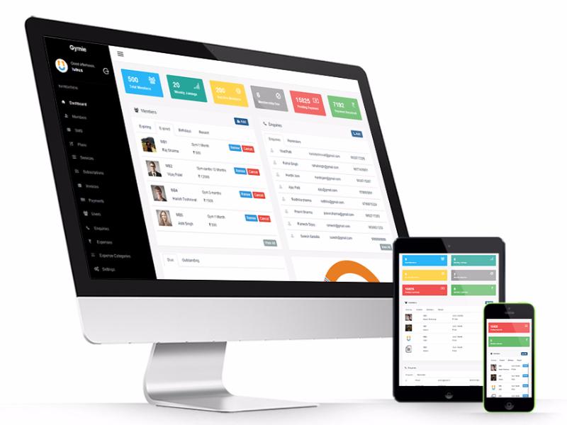 Gym & Club Management System Free Download