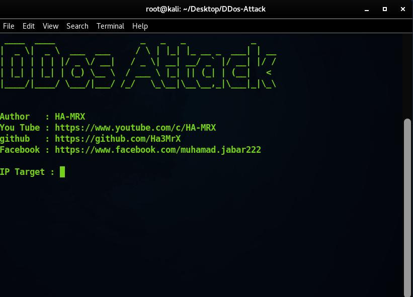DDos-Attack python script Free