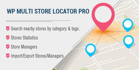 WP Multi Store Locator Pro v2.9