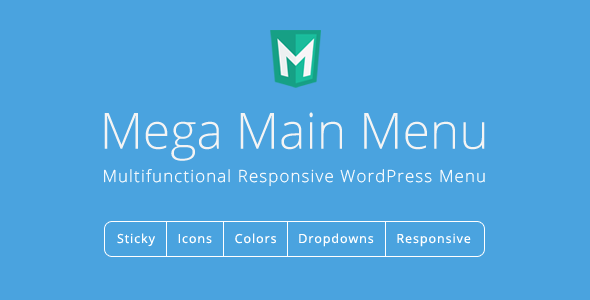 Mega Main Menu v2.1.8 – WordPress Menu Plugin