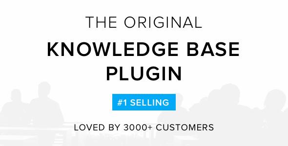 Knowledge Base v4.0.0 – Helpdesk   Wiki WordPress Plugin