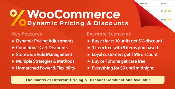 WooCommerce Dynamic Pricing & Discounts v2.2.8