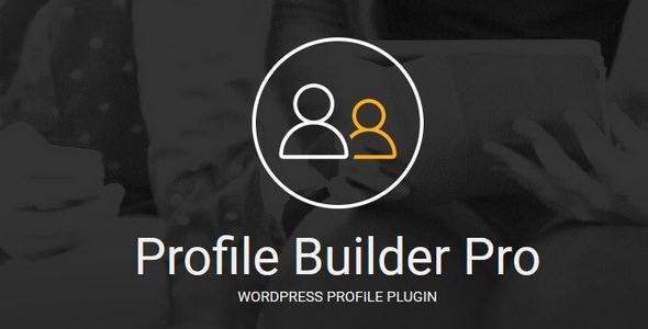 Profile Builder Pro v2.9.0 – WordPress Profile Plugin