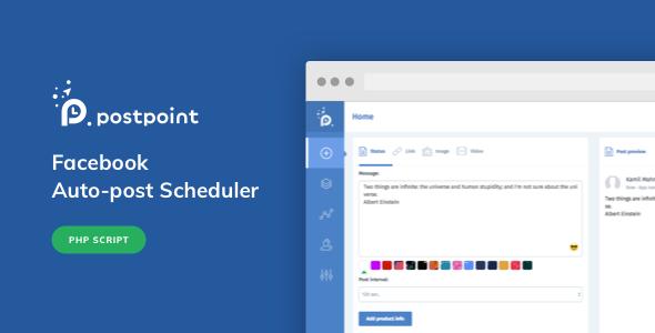 PostPoint v1.0.4 – Facebook Auto Post & Scheduler