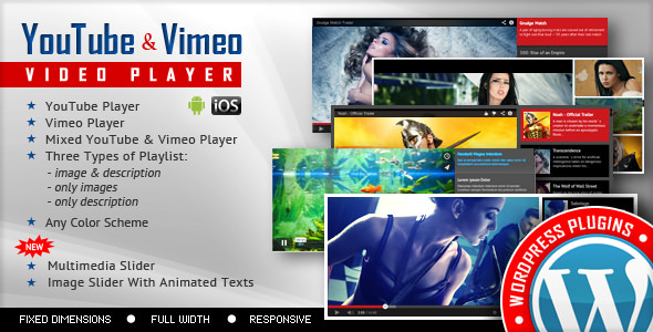 Youtube Vimeo Video Player and Slider v2.8.1.1