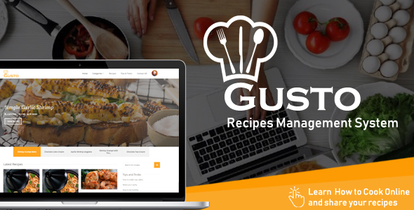 Gusto v1.4 – Recipes Management System