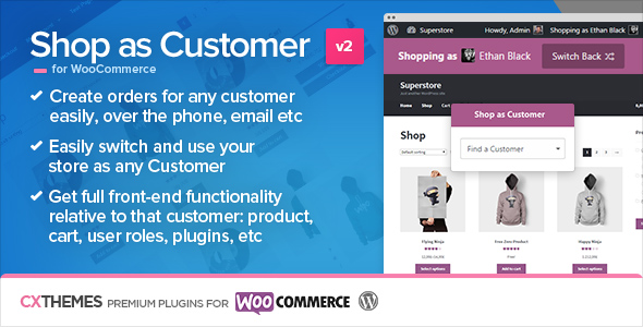 Shop as Customer for WooCommerce v2.1.5