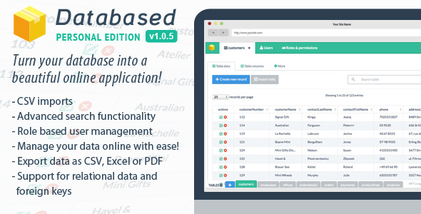 Databased v1.0.6 – Personal Edition