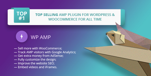 WP AMP v9.2.8 – Accelerated Mobile Pages for WP and WooCommerce