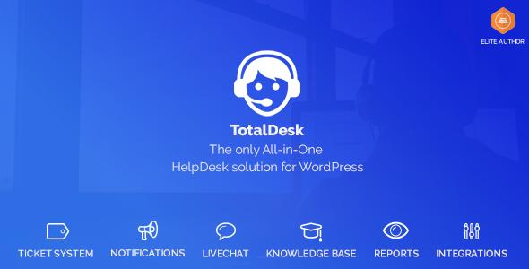 TotalDesk v1.6.0 – Helpdesk, Knowledge Base & Ticket System