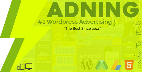 Adning Advertising v1.1.1 – All In One Ad Manager