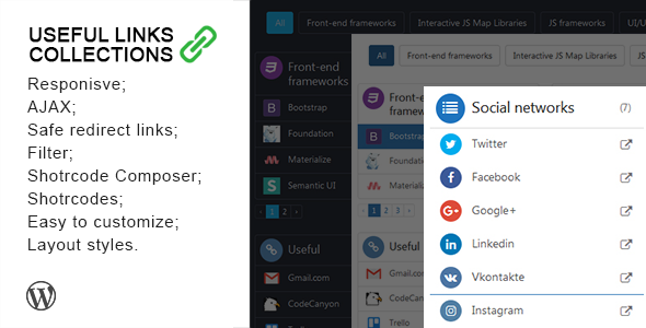 Useful Links Collections v1.3.1