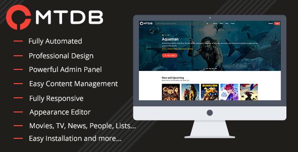 MTDb v3.0.9 – Ultimate Movie&TV Database
