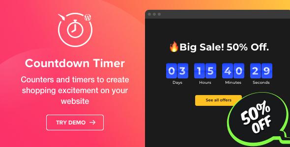 Countdown Timer v1.0 – Countdown Timer plugin