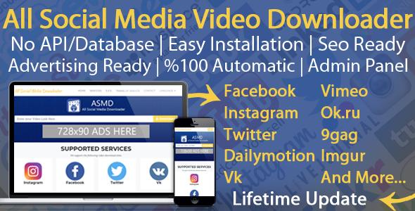 All Social Media Video Downloader v4.0