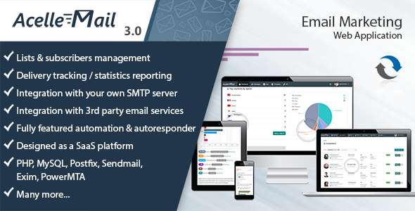 Acelle Email Marketing Web Application v3.0.20 – nulled
