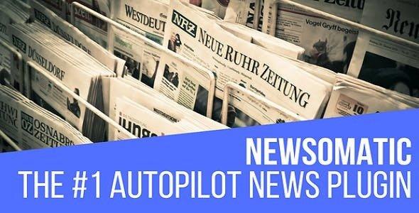 Newsomatic v2.4.2 – Automatic News Post Generator