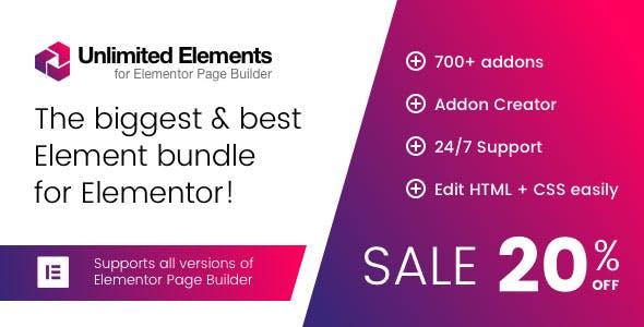 Unlimited Elements for Elementor Page Builder v1.3.10