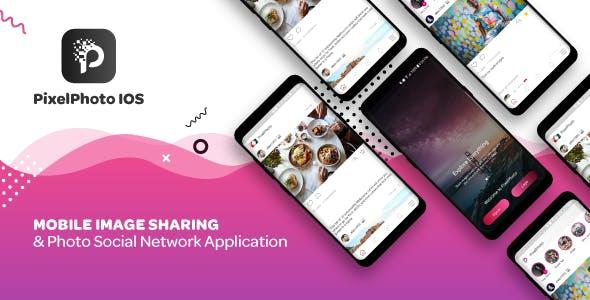 PixelPhoto IOS v1.0.2 – Mobile Image Sharing & Photo Social Network