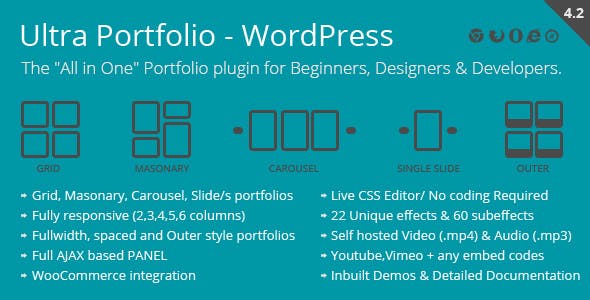 Ultra Portfolio v4.2 – WordPress