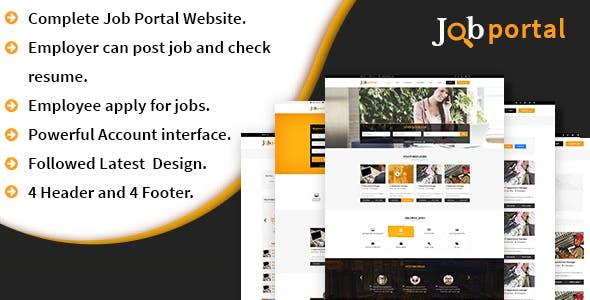 Job Portal Platform – A complete Job portal website