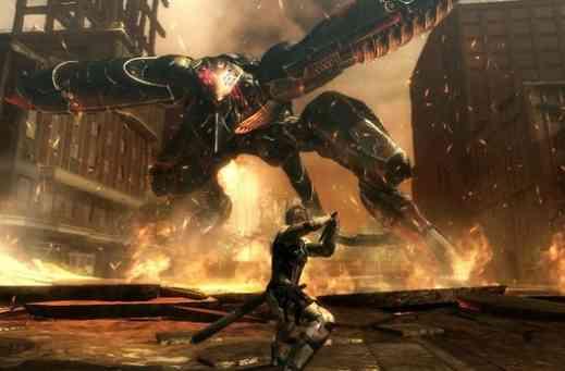 Metal Gear Rising Revengeance Game Play