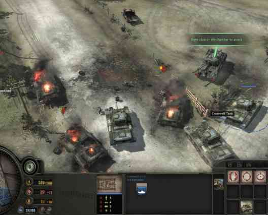 Company of heroes Opposing Fronts Features