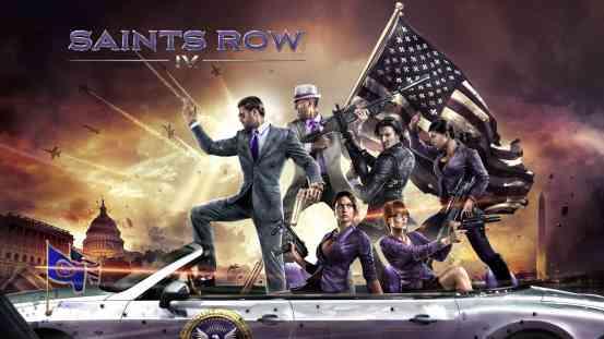 Saints Row IV logo