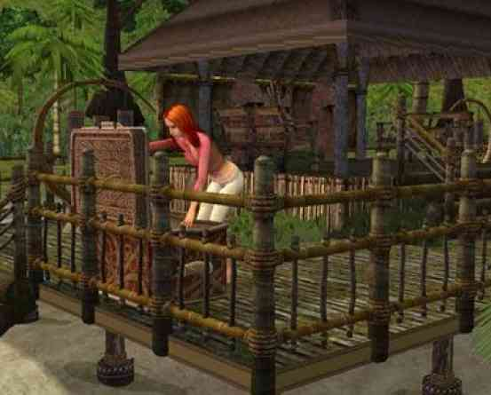 The Sims 2 Castaway setup