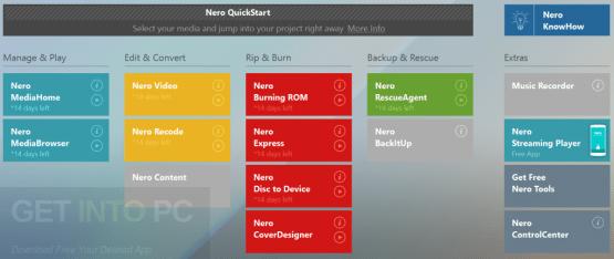 Nero 2018 Suite Latest Version Download
