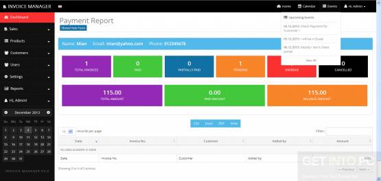 Invoice Manager Latest Version Download