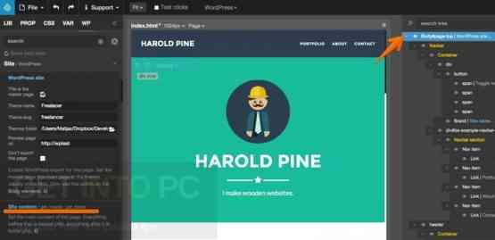 Pinegrow Web Editor 2.92 Offline Installer Download