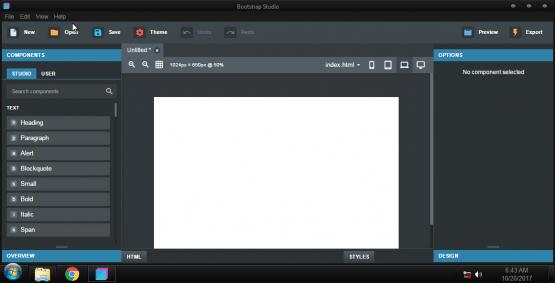 Bootstrap Studio 4.1.7 Pro Offline Installer Download