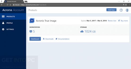 Acronis True Image 2018 Offine Installer Download